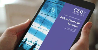 CISI : Risk in Financial Service Certification Examination